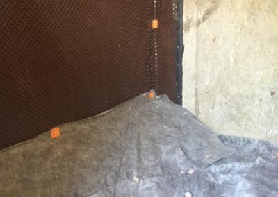 Étanchéisation par membrane Delta MS - Imperméabilisation GSV à St-Paul