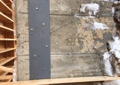 Réparation et renforcement de fondations à Crabtree - Imperméabilisation GSV à St-Paul